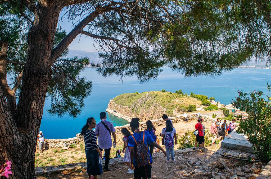 Dom w Grecji Peloponez forteca Palamidi
