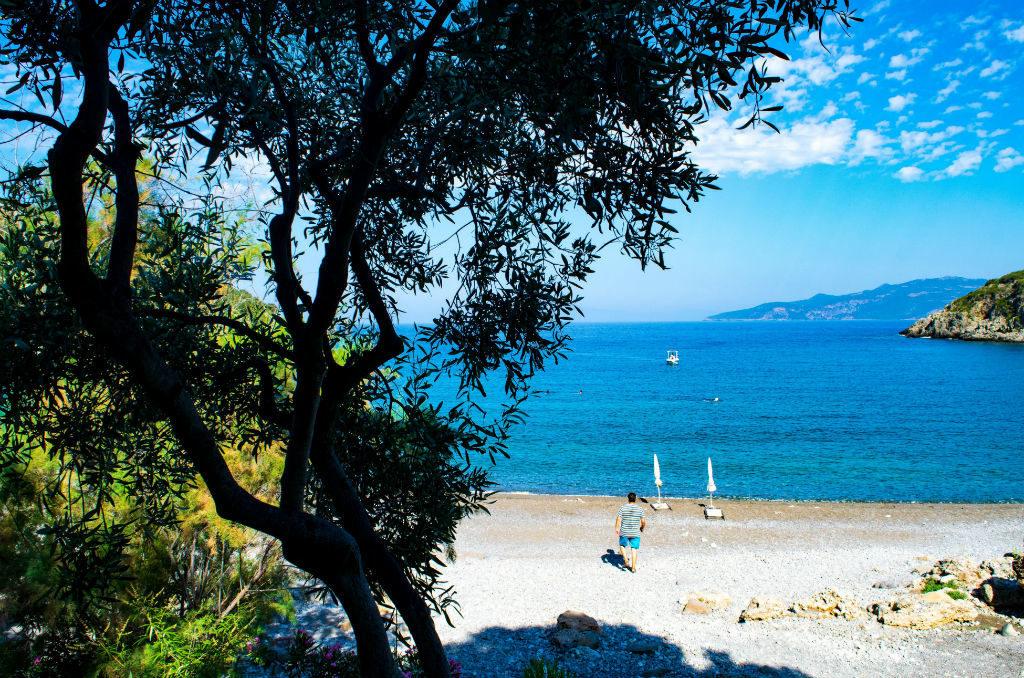 Dom w Grecji Peloponez Plaża Fonea