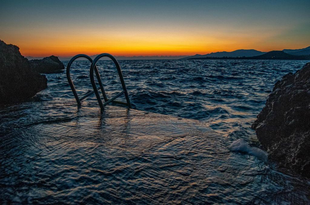 Dom w Grecji Peloponez Plaża Gnospi