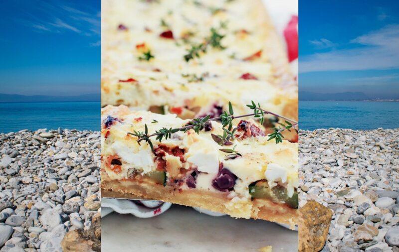 grecka kuchnia greckim jedzeniem grecka tarta feta